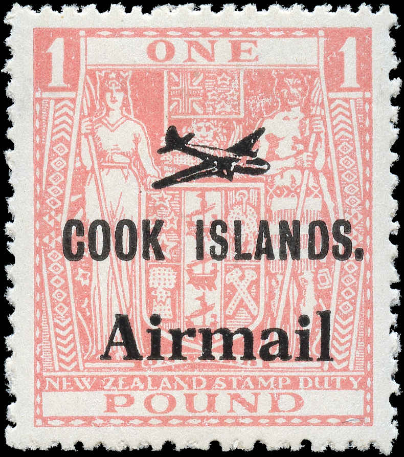 Cook Islands, #C9, VF, MH