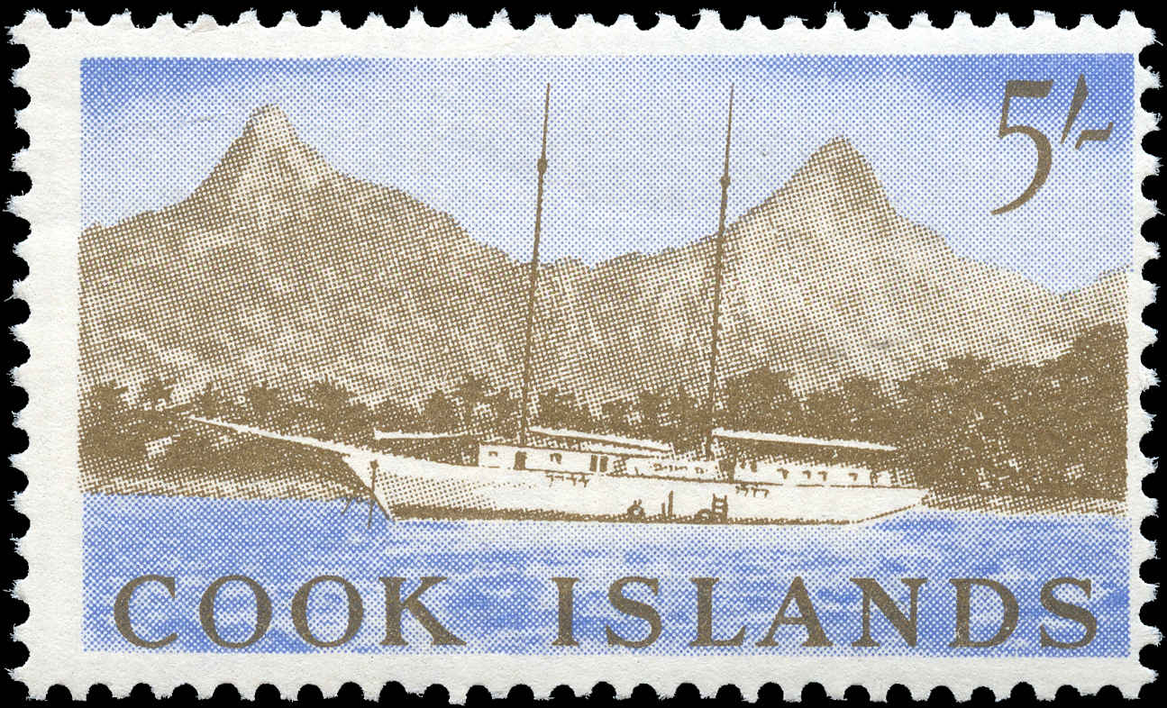 Cook Islands, #158, F+, MNH