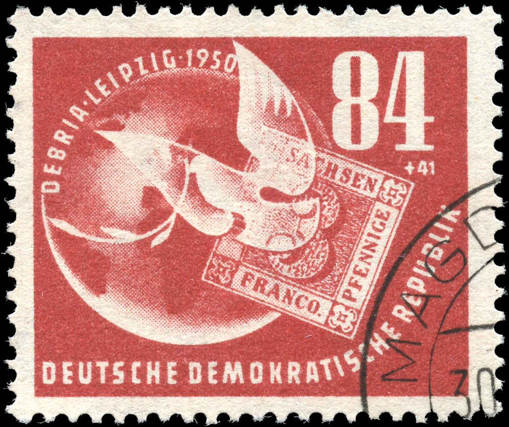 German Dem. Rep., #B21, F-VF, Used
