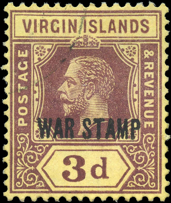 Virgin Islands, #MR2, F-VF, Used