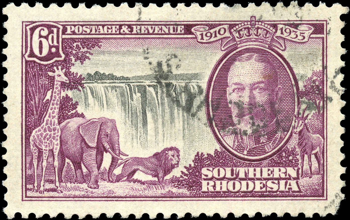 Southern Rhodesia, ##36, VF, Used