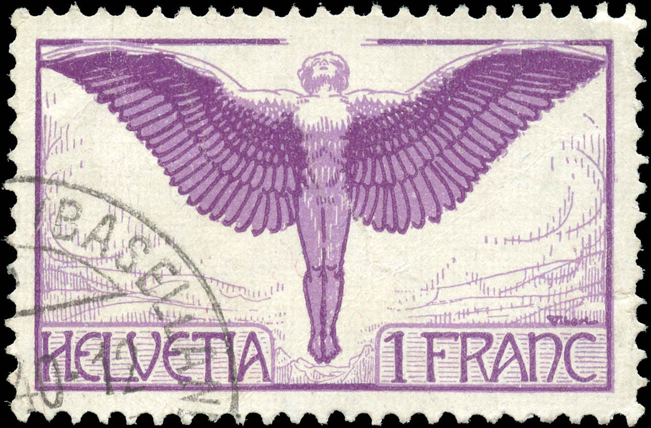 Switzerland #C12, VF, Used