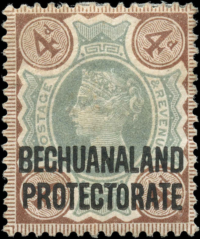 Bechuanaland Protectorate, ##73, F-VF, MH