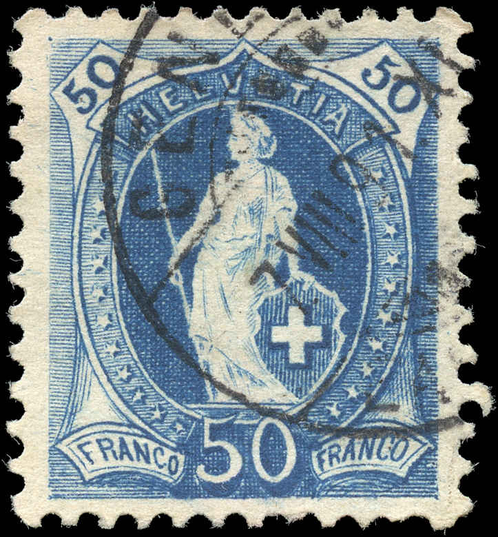 Switzerland ##86, VF, Used