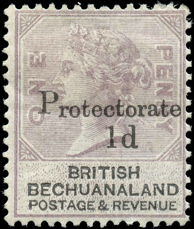Bechuanaland Protectorate, ##60, F+, MH