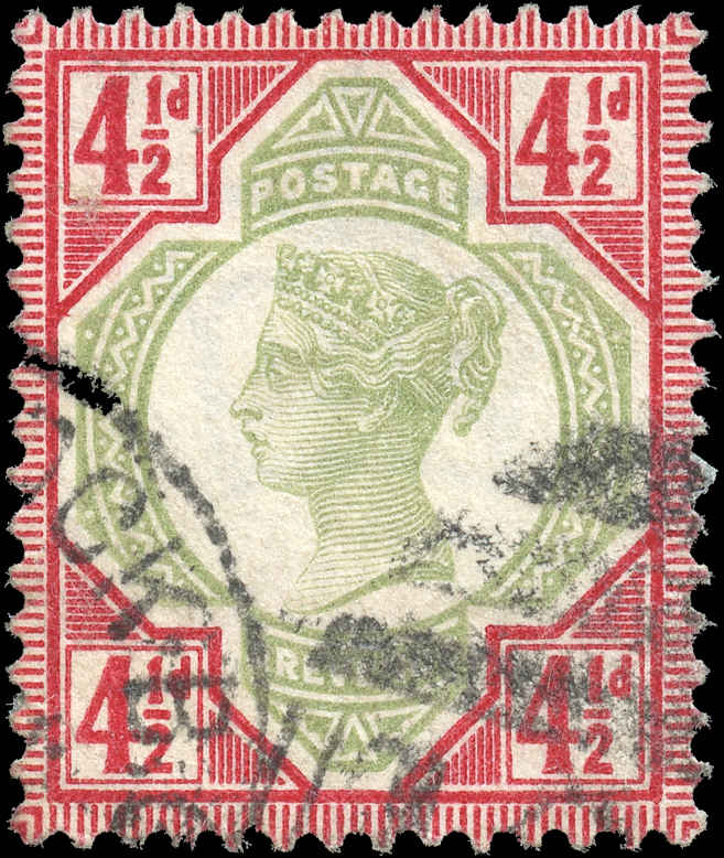 Great Britain, #117, VF, Used