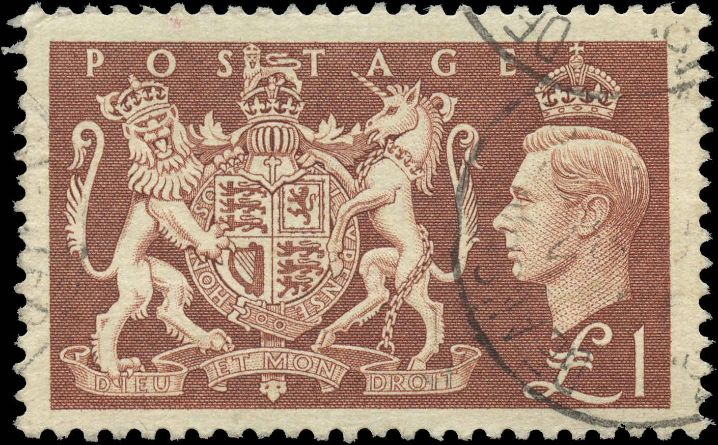 Great Britain, #289, F-VF, Used