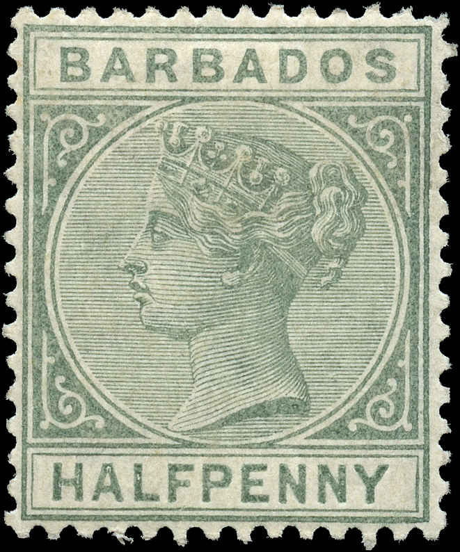 Barbados, ##60, VF, MH