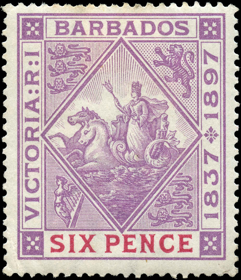 Barbados Stamp, Scott ##86, F+, MH