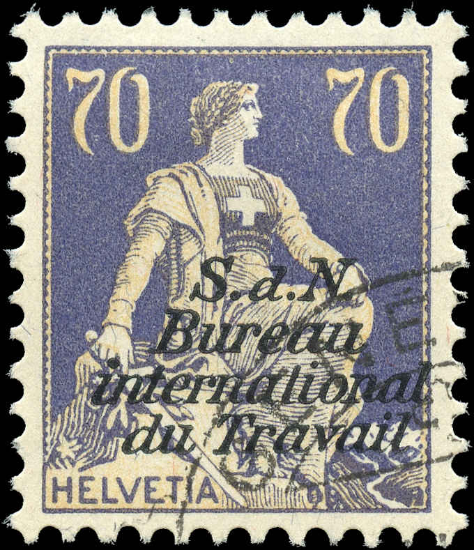Switzerland #3-O20, F-VF, Used