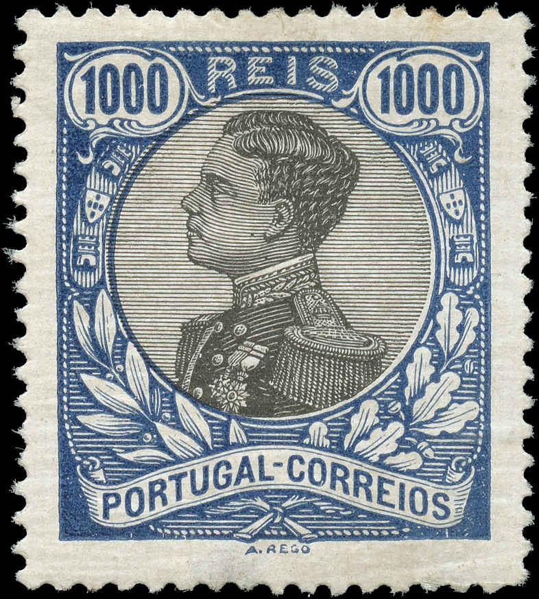Portugal, #169, F-VF, MH