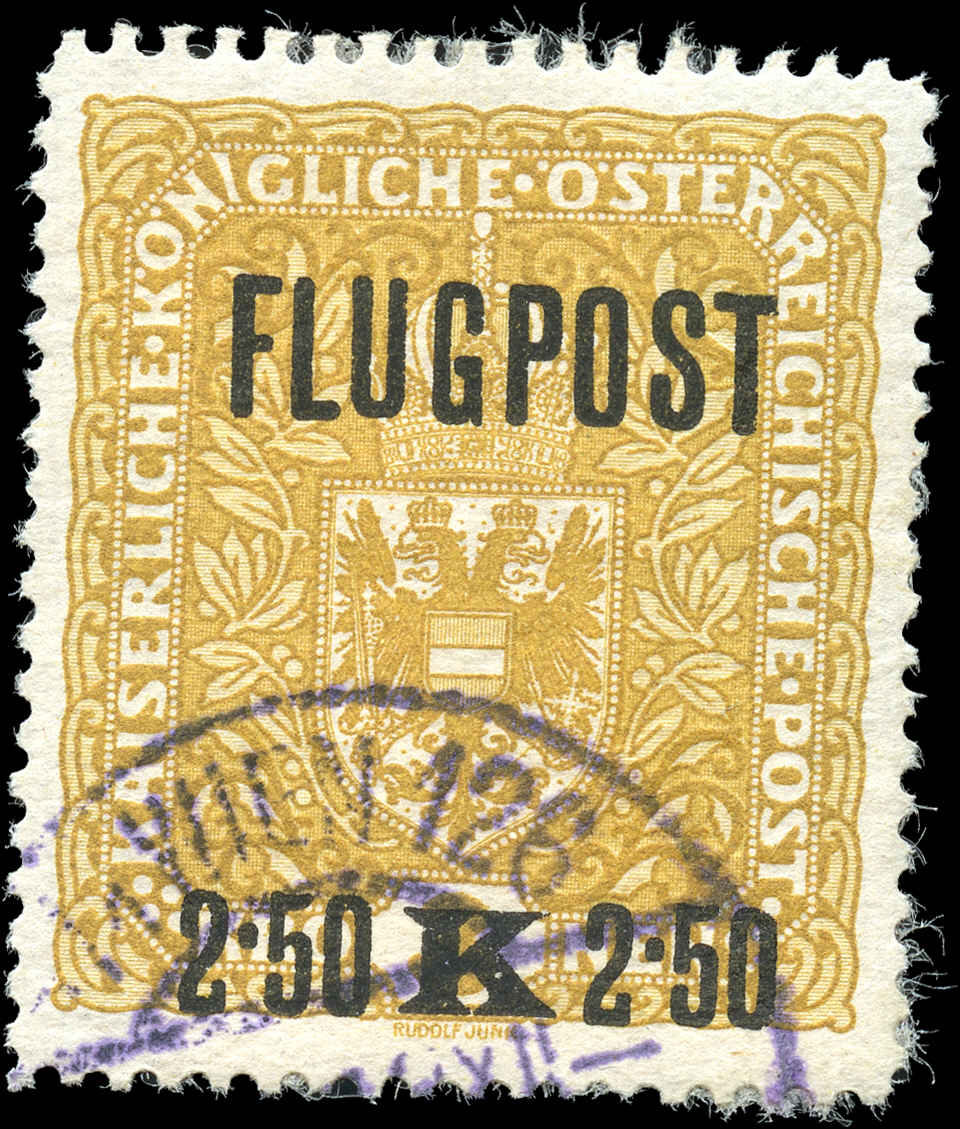 Austria, #C2, VF, Used