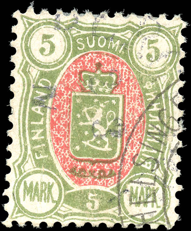 Finland, ##44, F-VF, Used