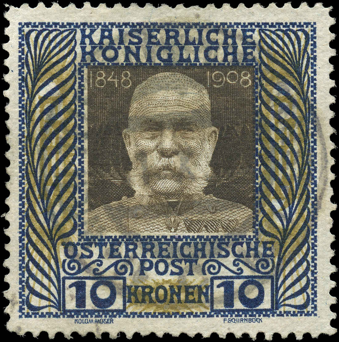 Austria, #127, F-VF, Used