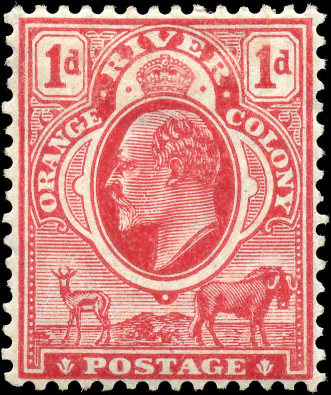 Orange River, ##71, F-VF, MH