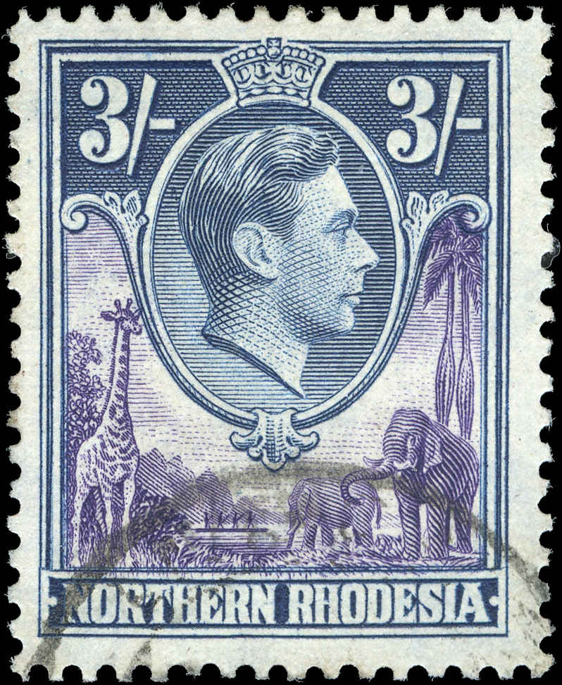 Northern Rhodesia, ##42, F-VF, Used