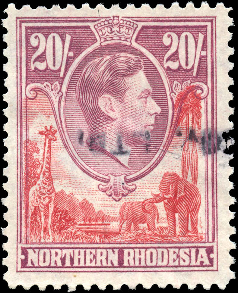 Northern Rhodesia, ##45, F-VF, Used
