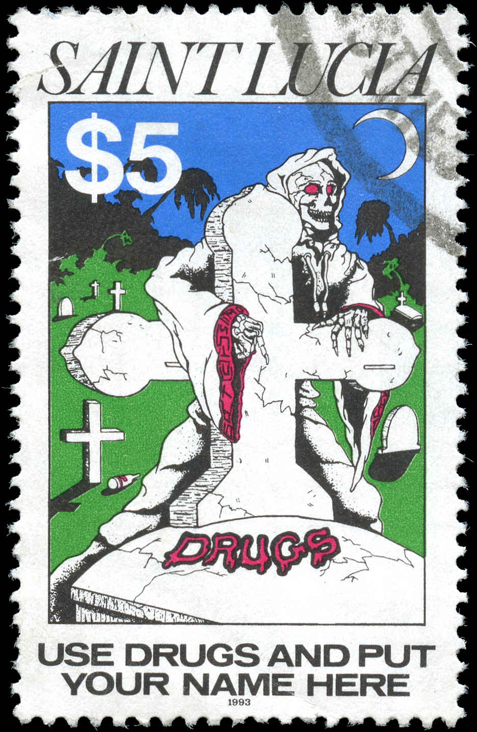 St. Lucia, #1001, VF, Used