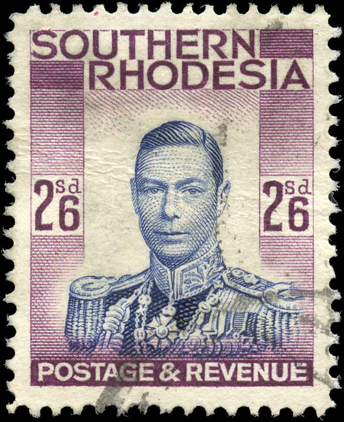 Southern Rhodesia, ##53, VF, Used