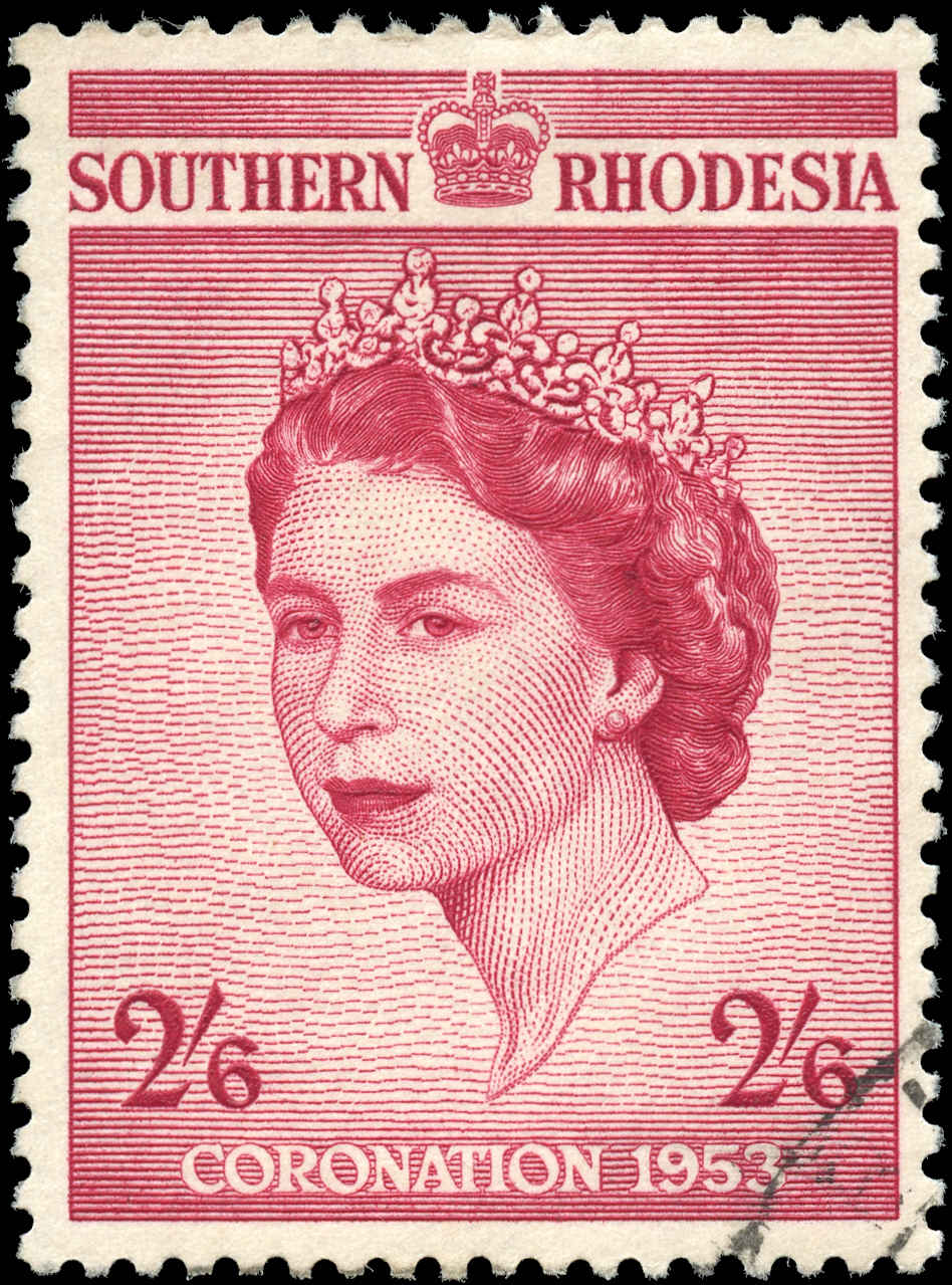 Southern Rhodesia, ##80, F-VF, Used