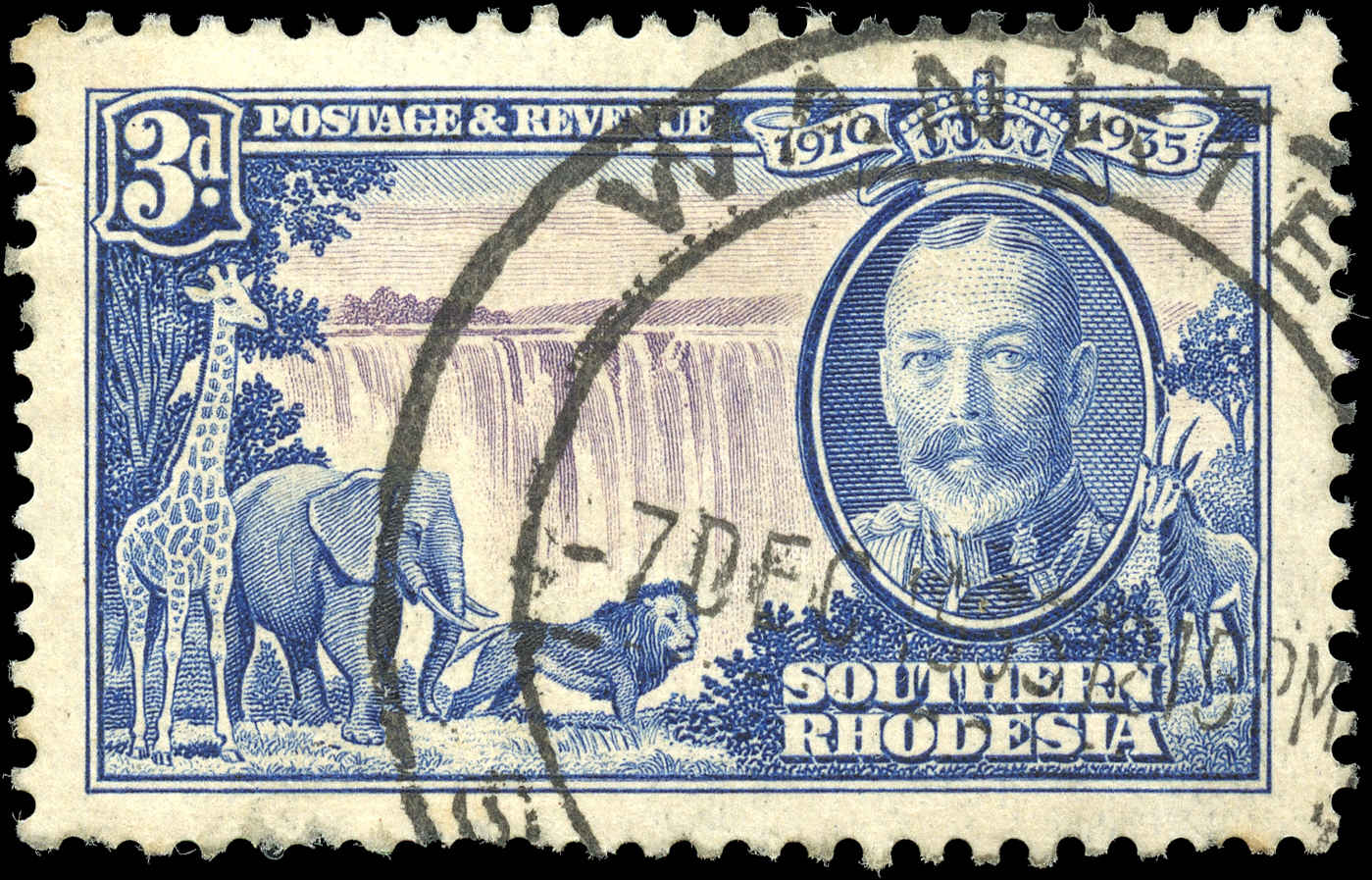 Southern Rhodesia, ##35, VF, Used