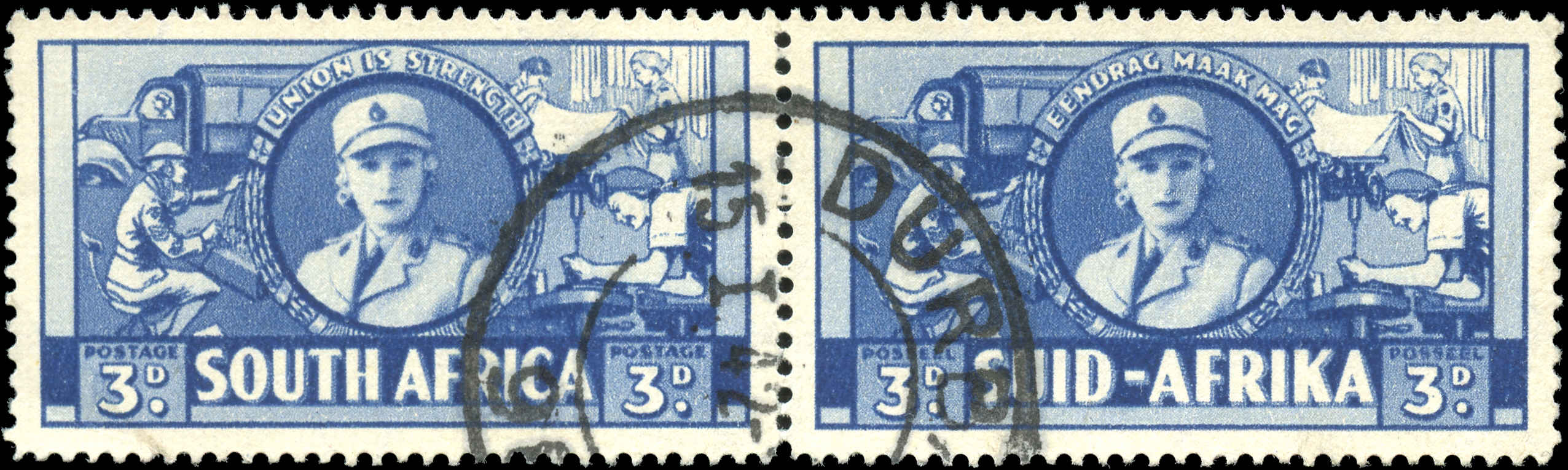 South Africa, ##85, VF, Used