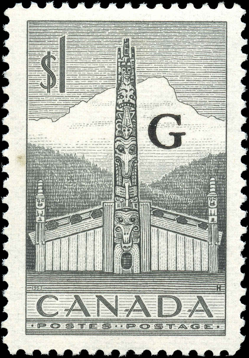 Canada #O32, Official Stamp, F-VF, MH