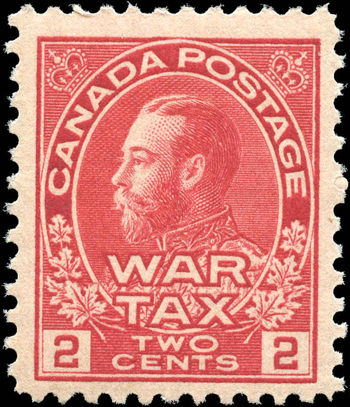 Canada #MR2a, War Tax Issue, F+, MNH