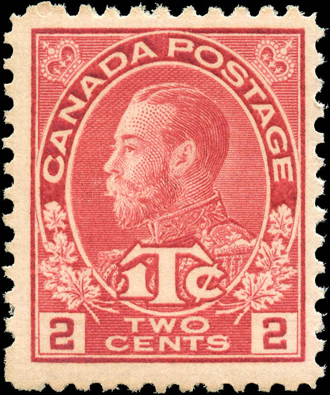 Canada #MR3, War Tax Issue, F+, MNH