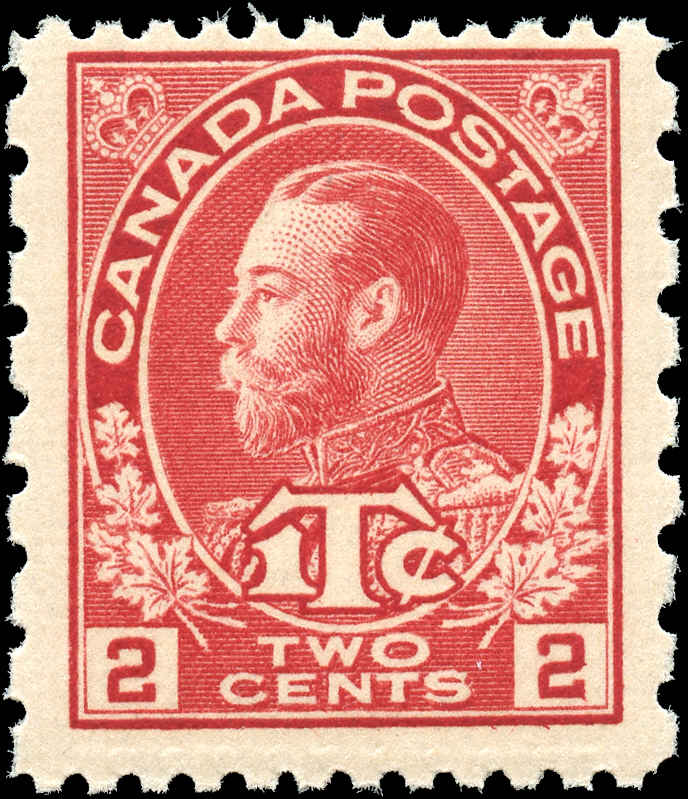 Canada #MR5, War Tax Issue, F+, MNH