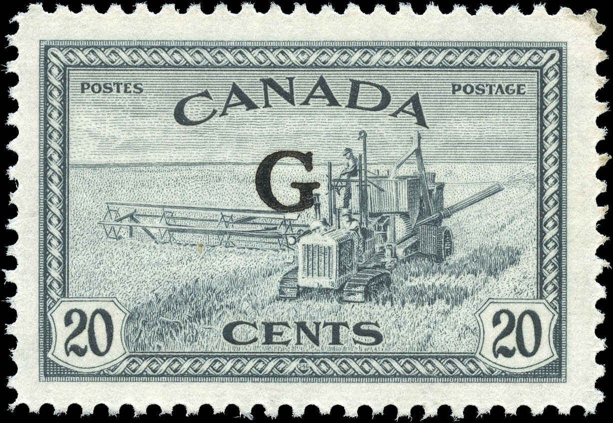 Canada #O23, Official Stamp, F-VF, MNH