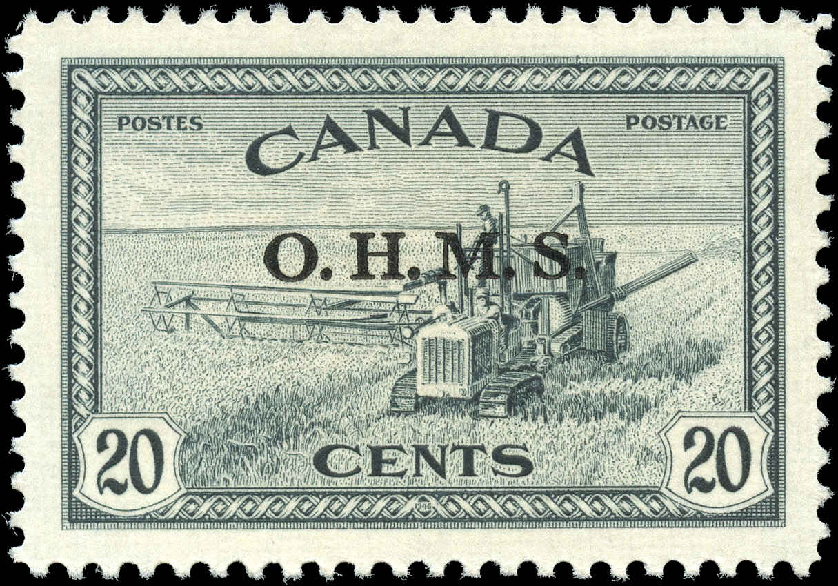 Canada #O8, Official Stamp, VF, MNH