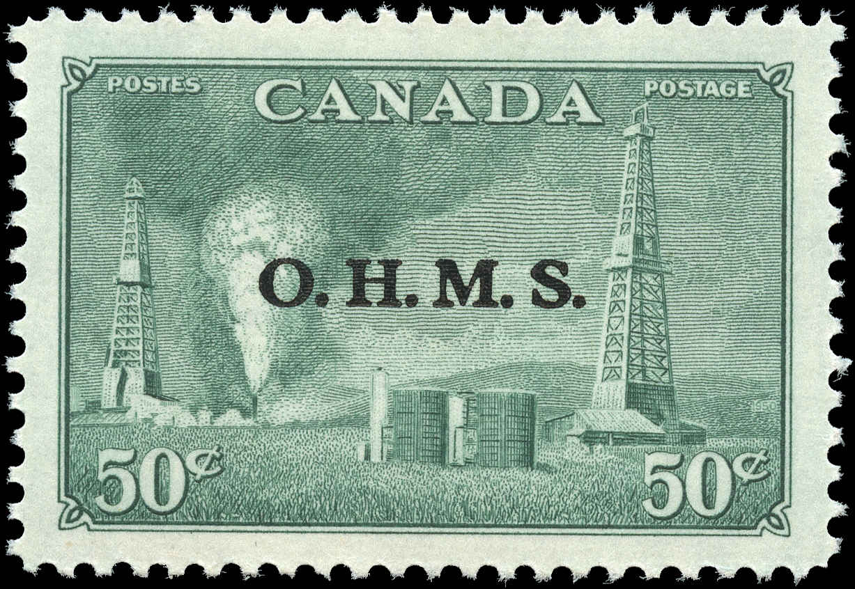 Canada #O11, Official Stamp, VF, MH