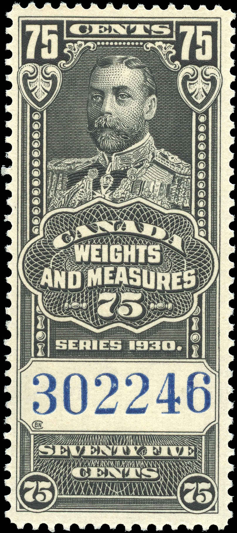 Canada #FWM66, Revenue Stamp, F-VF, MNH