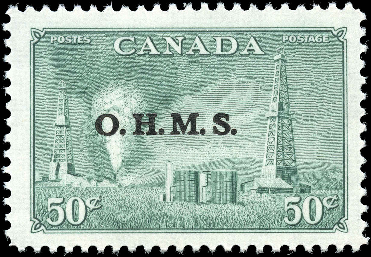 Canada #O11, Official Stamp, F-VF, MH