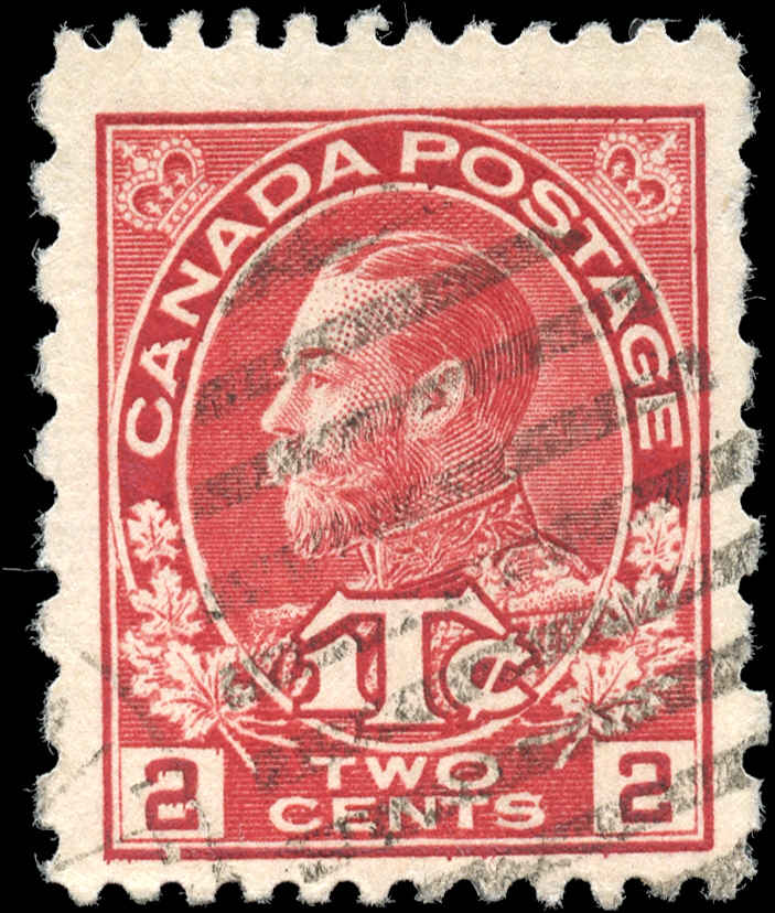 Canada #MR5, War Tax Issue, F+, Used
