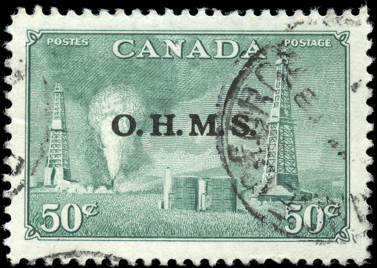 Canada #O11, Official Stamp, VF, Used