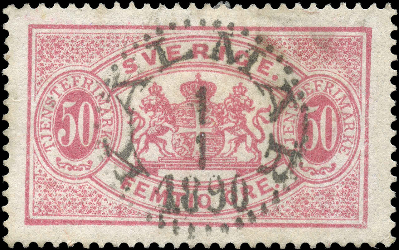 Sweden, #O23, F-VF, Used