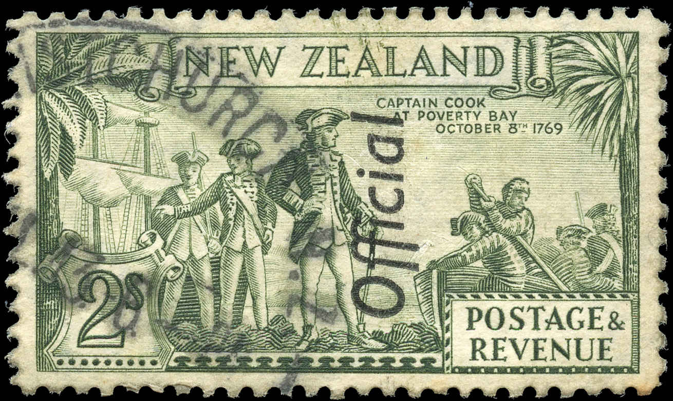 New Zealand, #O71a, VF, Used