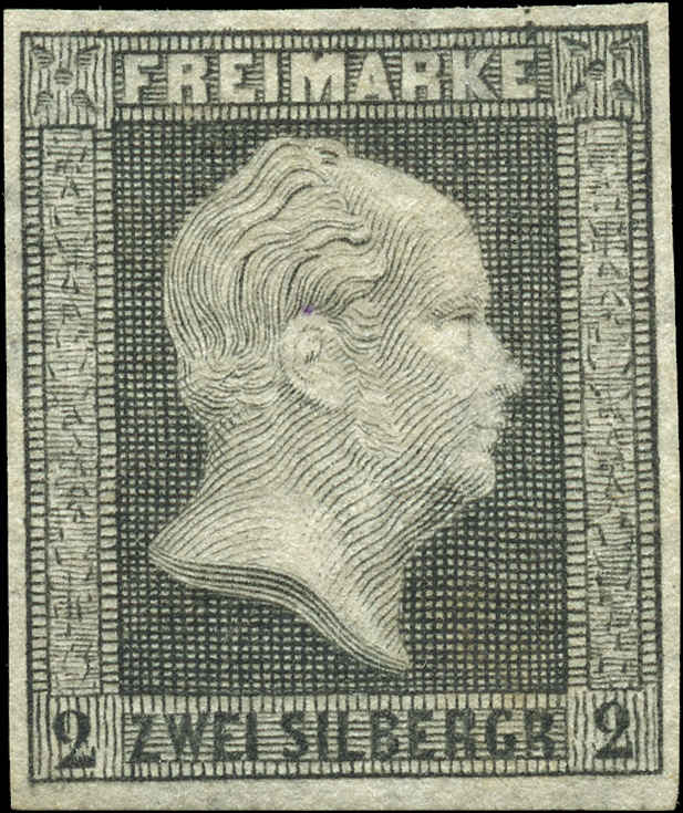 German States - Prussia, ###4, F-VF, Used