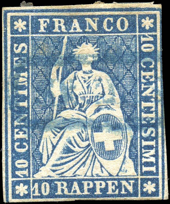 Switzerland ##37c, F, Used