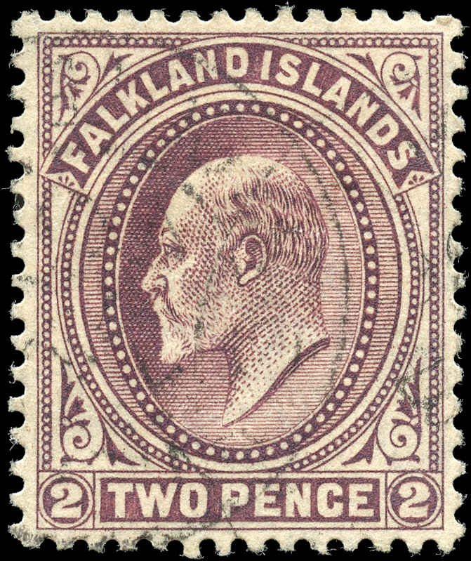 Falkland Islands, ##24, F-VF, Used