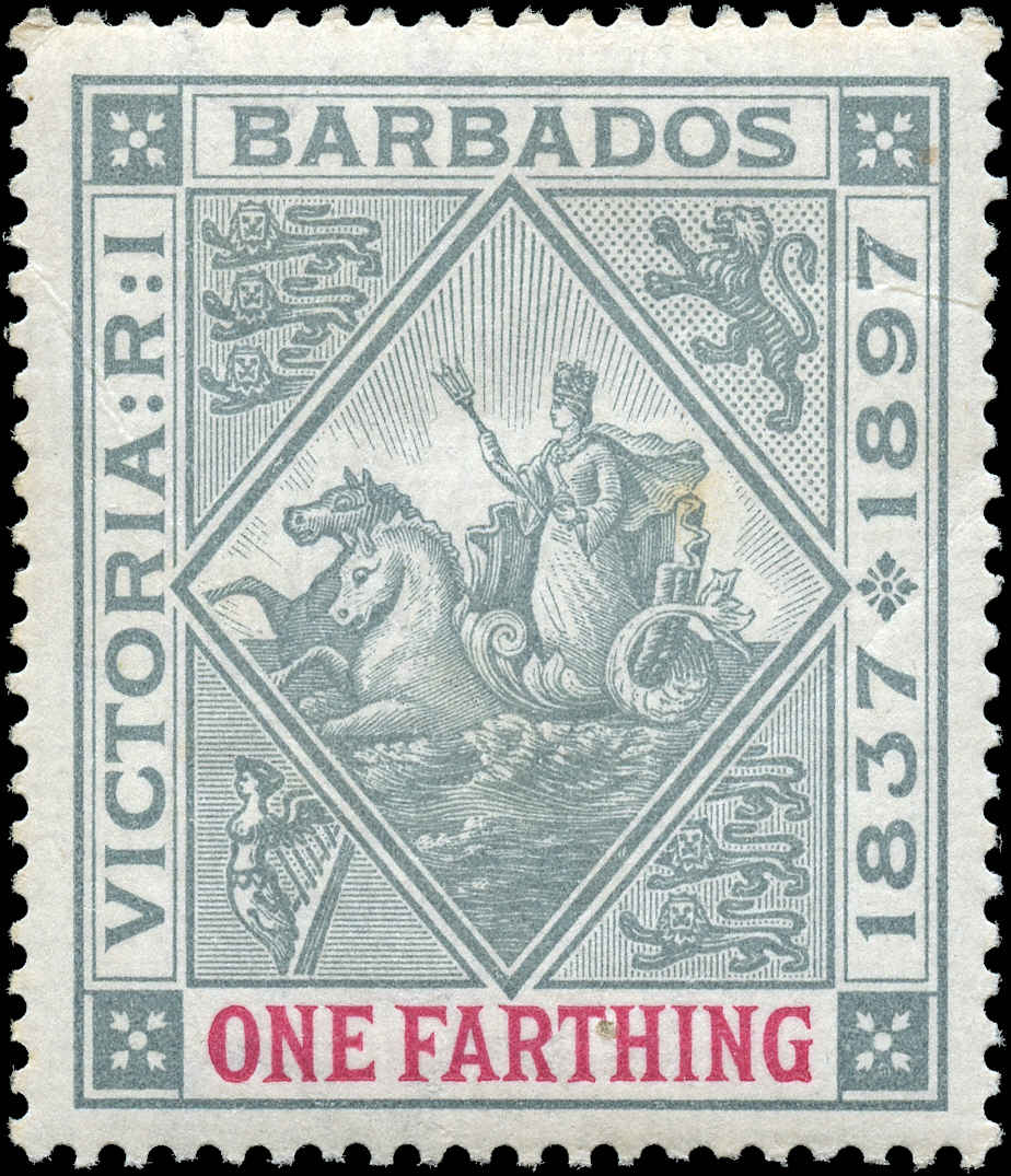 Barbados Stamp, Scott ##81, F-VF, MNH