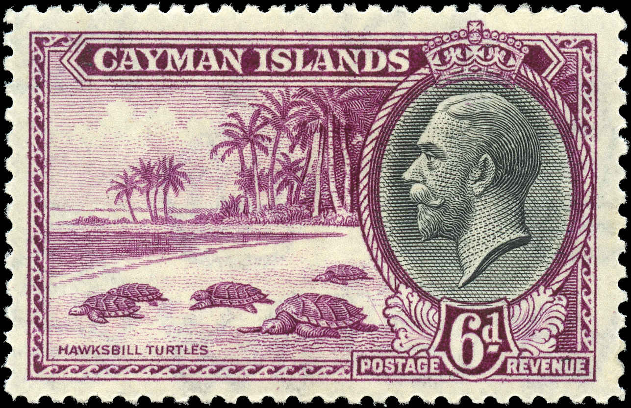 Cayman Islands, ##92, F-VF, MH
