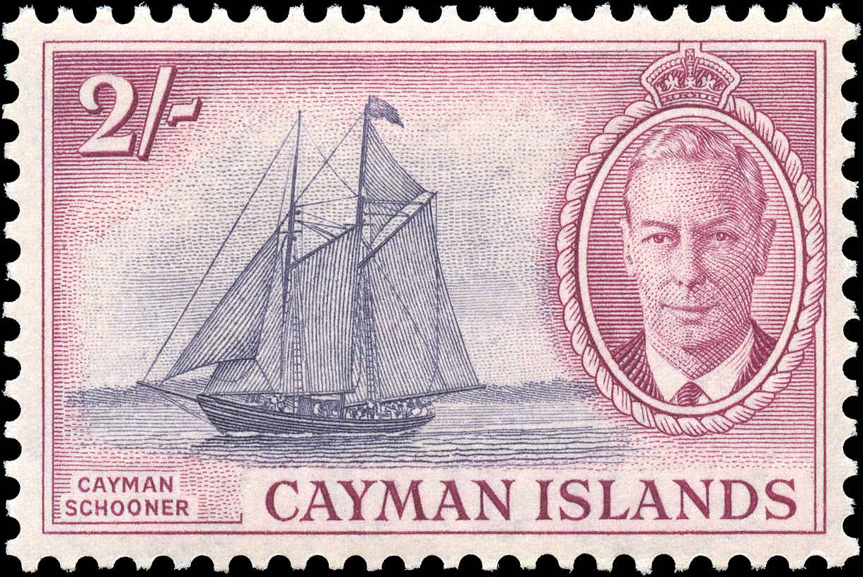 Cayman Islands, #132, F-VF, MH