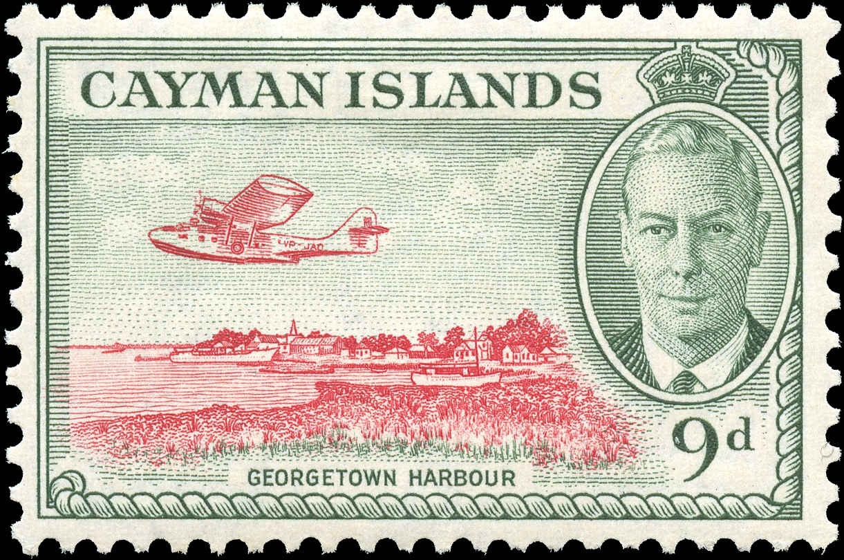 Cayman Islands, #130, F-VF, MH