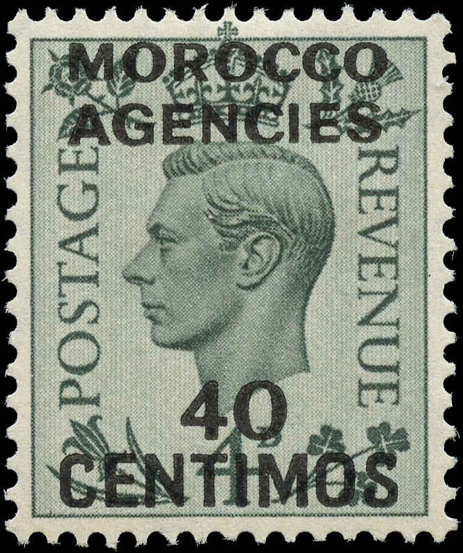 Great Britain, Brit Offices-Morocco, ##87,VF, MH