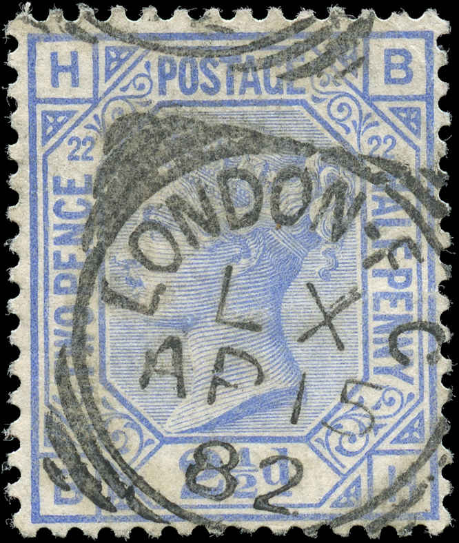 Great Britain, ##82, F+, Used