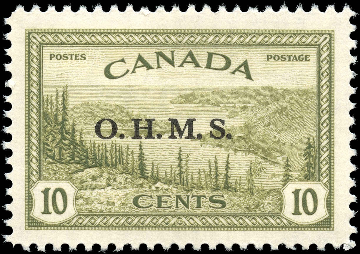 Canada #O6 , Official Stamp, F-VF, MH