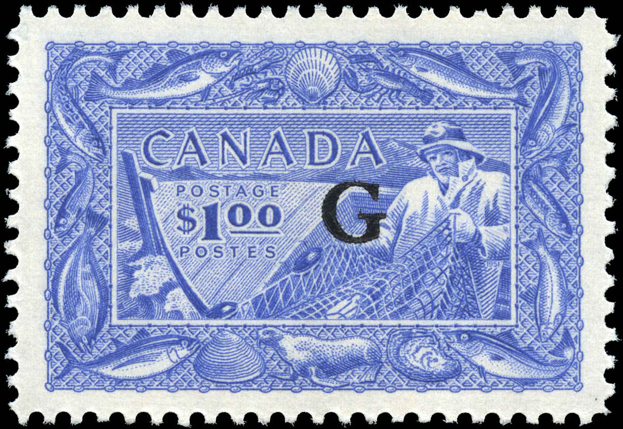 Canada #O27, Official Stamp, VF, MNH